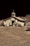 drewniany czas kościelny stary western zdjęcia royalty free