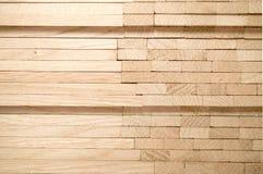 Drewniany dębowy parkietowy obrazy stock