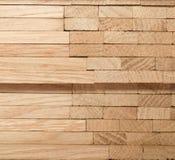 Drewniany dębowy parkietowy zdjęcia royalty free