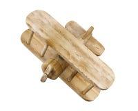 Drewniany 3d samolot Zdjęcie Stock