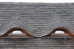 Drewniany dach Obraz Royalty Free