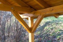 Drewniany dach Zdjęcie Royalty Free