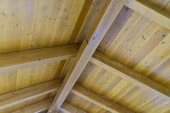 Drewniany dach Zdjęcia Stock