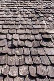 Drewniany dach tekstury tło Obraz Stock
