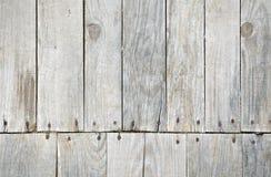 Drewniany decking szczegół Zdjęcia Royalty Free