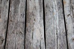 Drewniany decking tekstury tło Zdjęcia Stock