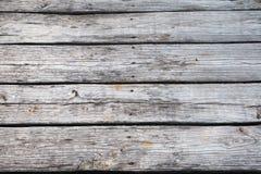 Drewniany decking tekstury tło Zdjęcia Royalty Free