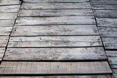 Drewniany decking tekstury tło Fotografia Royalty Free