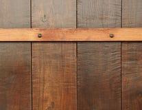 Drewniany deski ściany tło Obrazy Royalty Free