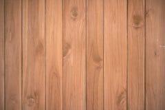 Drewniany deski brąz tekstury tło Obraz Stock