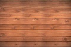 Drewniany deski brązu tło Zdjęcie Stock