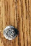 Drewniany deski brązu tekstury tło, rygiel Obraz Royalty Free