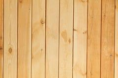 Drewniany deski brąz Obrazy Royalty Free