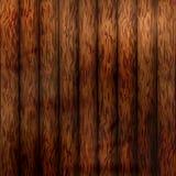 Drewniany deski tekstury tło, ciemny brąz drewniany Obrazy Stock