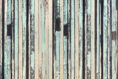 Drewniany deski zieleni i brązu tekstury tła rocznika drewna backg Zdjęcie Stock