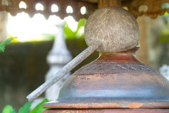Drewniany dipper-2 Zdjęcie Stock
