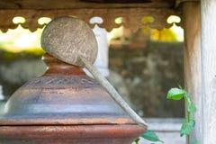 Drewniany dipper-1 Obrazy Royalty Free