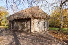 Drewniany dom Fotografia Royalty Free