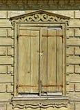 Drewniany dom. Zdjęcie Stock