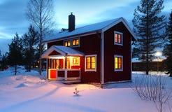 Drewniany dom Obrazy Royalty Free