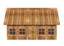 Drewniany dom Obraz Stock