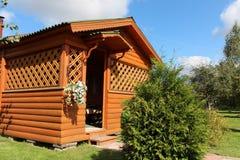 Drewniany dom na wsi Obraz Royalty Free