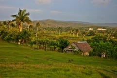 Drewniany dom w wsi Kuba obrazy royalty free