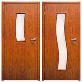 Drewniany drzwi 04 Fotografia Royalty Free