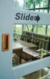 Drewniany drzwi Zdjęcie Stock