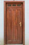 drewniany drzwi Zdjęcia Stock