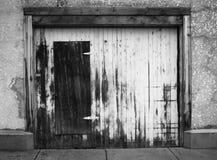 Drewniany drzwi Fotografia Stock