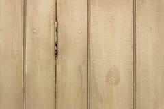 drewniany drzwi Obraz Royalty Free
