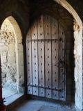 drewniany drzwi zdjęcia royalty free