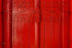 Drewniany drzwi jest tłem zdjęcia stock