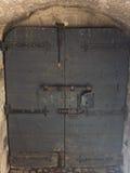 Drewniany drzwi w St Angelo w Rzym zdjęcie royalty free