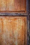 Drewniany drzwiowy abstrakcjonistyczny tekstury tło. zdjęcie royalty free