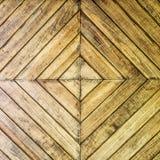 Drewniany drzwiowy backgound Zdjęcie Royalty Free