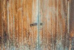 Drewniany drzwiowy fotografii tło, tekstury i Obrazy Royalty Free