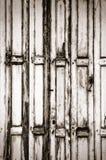 drewniany drzwiowy rocznik Zdjęcie Stock