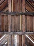 Drewniany drzwiowy szczegół Zdjęcia Stock