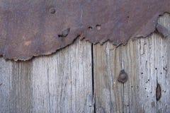 Drewniany drzwiowy tło Fotografia Royalty Free