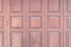 drewniany drzwiowy tekstura wzór dla tła Zdjęcie Royalty Free