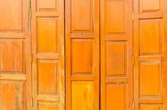 Drewniany drzwiowy tekstury tło Obraz Stock