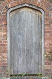 Drewniany Drzwiowy wejście Zdjęcia Royalty Free