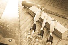 drewniany działanie Fotografia Stock