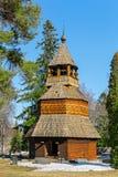 Drewniany dzwonkowy wierza Obrazy Stock
