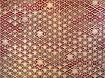 Drewniany fasadowy szablonu projekt, cembruje graficznej sztuki ściany wzoru powierzchni teksturę W górę wewnętrznego materiału d fotografia stock
