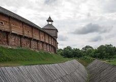 Drewniany forteca Obraz Royalty Free