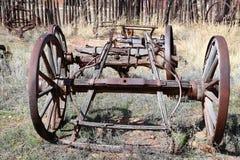 Drewniany furgon Zdjęcia Stock