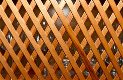 Drewniany gabinet Fotografia Royalty Free